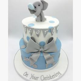 elephant christening cake Birthday Cake, Leeds, Yorkshire, HD Cakes