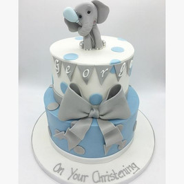 elephant christening cake Birthday Cake, Leeds, Yorkshire, HD Cakes