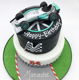 F1 McLaren Racing Car Birthday Cake, boys cake Leeds Yorkshire HD Cakes
