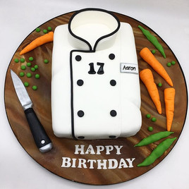 Chef Birthday Cake, Leeds Yorkshire HD Cakes
