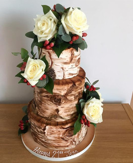 tree effect Birthday Cake, Leeds, Yorkshire, HD Cakes