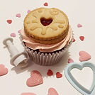 Keep an eye out for my Valentine's cupca