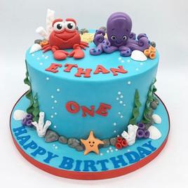 Under the sea Birthday Cake, Leeds, Yorkshire, HD Cakes