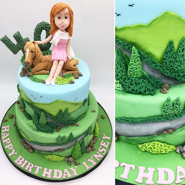 Yorkshire Dales Outdoors Birthday Cake, Leeds Yorkshire HD Cakes