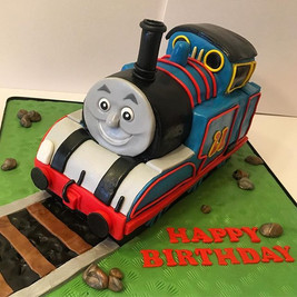 Thomas the Tank Engine Birthday Cake, Leeds Yorkshrie HD Cakes