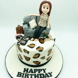 Personalised fashion cake, Birthday Cake, Leeds, Yorkshire, HD Cakes