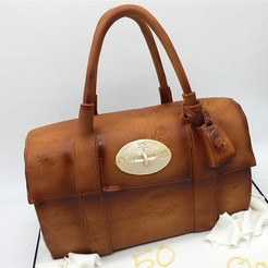 Mulberry Fashion Handbag Birthday Cake, Leeds Yorkshire HD Cakes