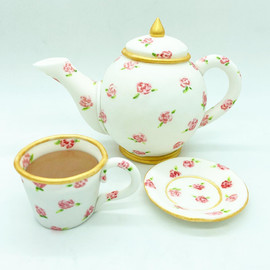 Teapot afternoon tea Birthday Cake Topper, HD Cake Toppers, HD Cakes, Leeds, Yorkshire