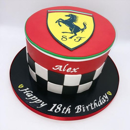 Ferrari Car Birthday Cake, Leeds, Yorkshire, HD Cakes