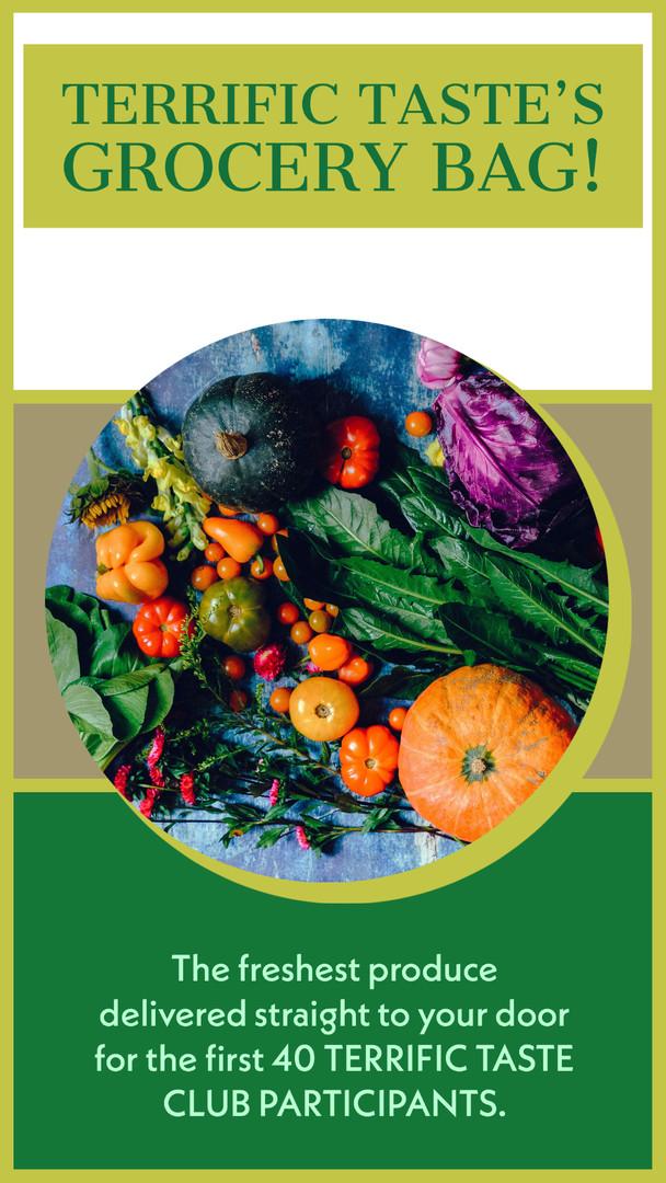 TERRIFIC TATSE Produce Market Delivery A