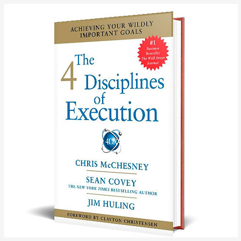 Las 4 Disciplinas De La Ejecución, Ingles.