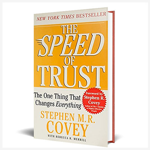 The Speed Of Trust Hardcover Book