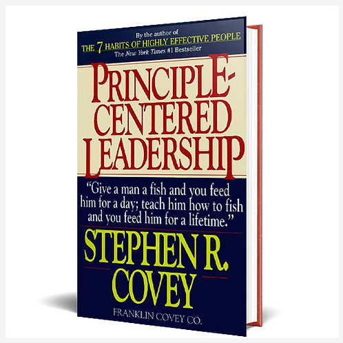 Principle Centered Leadership