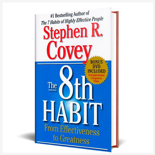The 8Th Habit Hardcover Book
