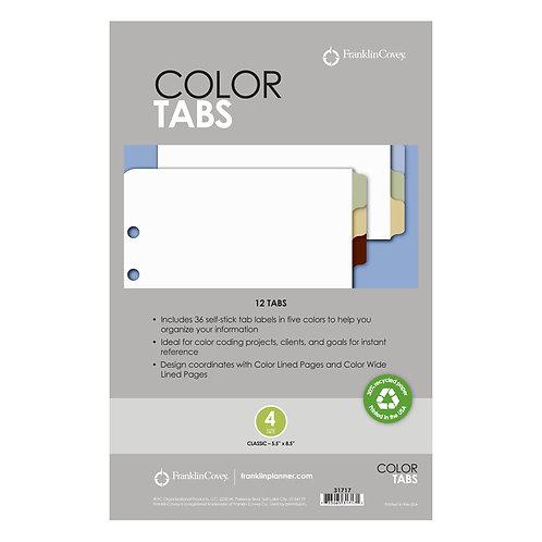 Tabuladores De Colores