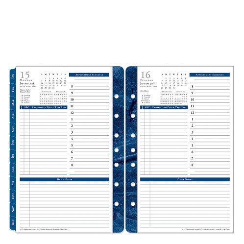 Repuesto One Page Per Day Monticello - Cl�sico, Ene-Dic 2018