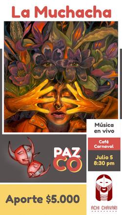 PAZCO IV - La Muchacha - vertical BAJA