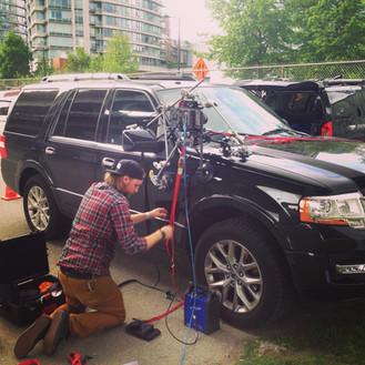 car rig on U2 doc