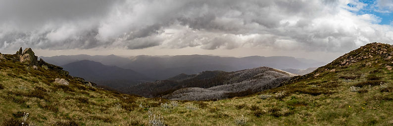 High Country Ranges by Andrew Wettenhall