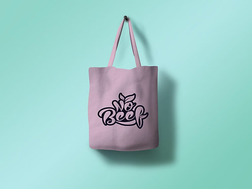 No Beef Tote Bag