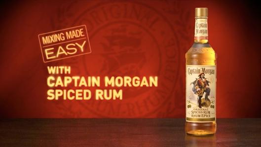 CAPTAIN MORGAN - Mixing Made Easy Campaign (Canada)