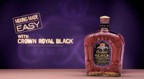 CROWN ROYAL BLACK - Mixing Made Easy Campaign (Canada) by Benjamin Pinkerton