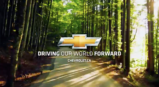 CHEVROLET - Driving Our World Forward Campaign (Canada). Custom Music by Benjamin Pinkerton