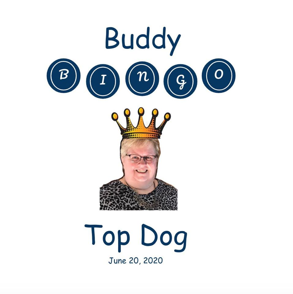 Buddy Bingo Top Dog Pic for June-2020
