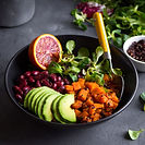 Healthy Salad, fitness after 50
