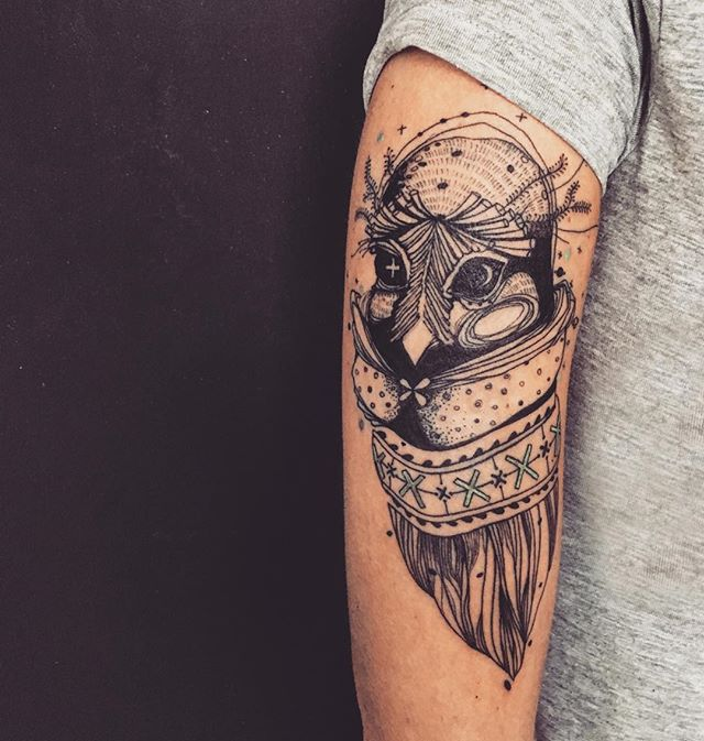 #tattoo#tattooart#tattooing#tattoogirl#tattooed#owl#tattoolife#ink#inked#black#blacktattoo#illustrat