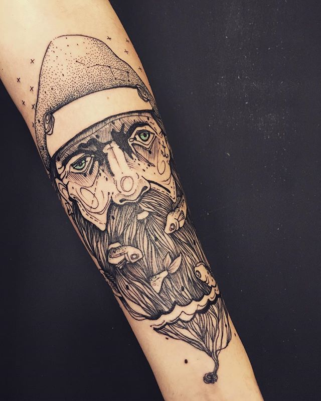 #tattoo #tattooart #tattooing #tattoomagazine #tattooed #ink #inked #illustration #sailor #fisherman