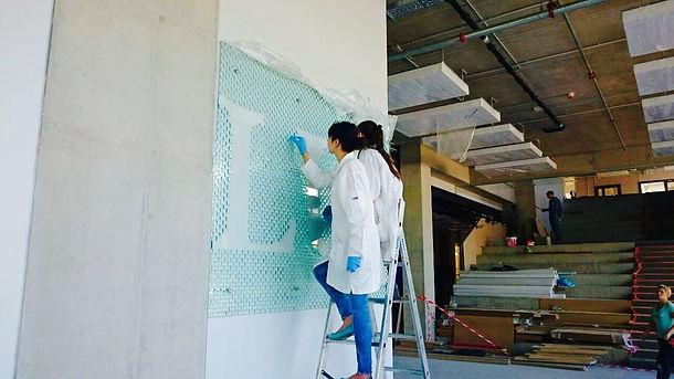 Cleaning Glass Design Signboard. LU stikla zīme