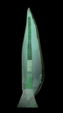 Layered Glass Sculpture Post Procella aka After The Storm 3D Model