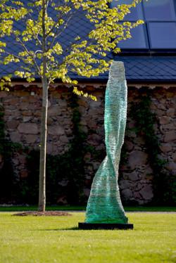 Ascendit Layered Glass Sculpture