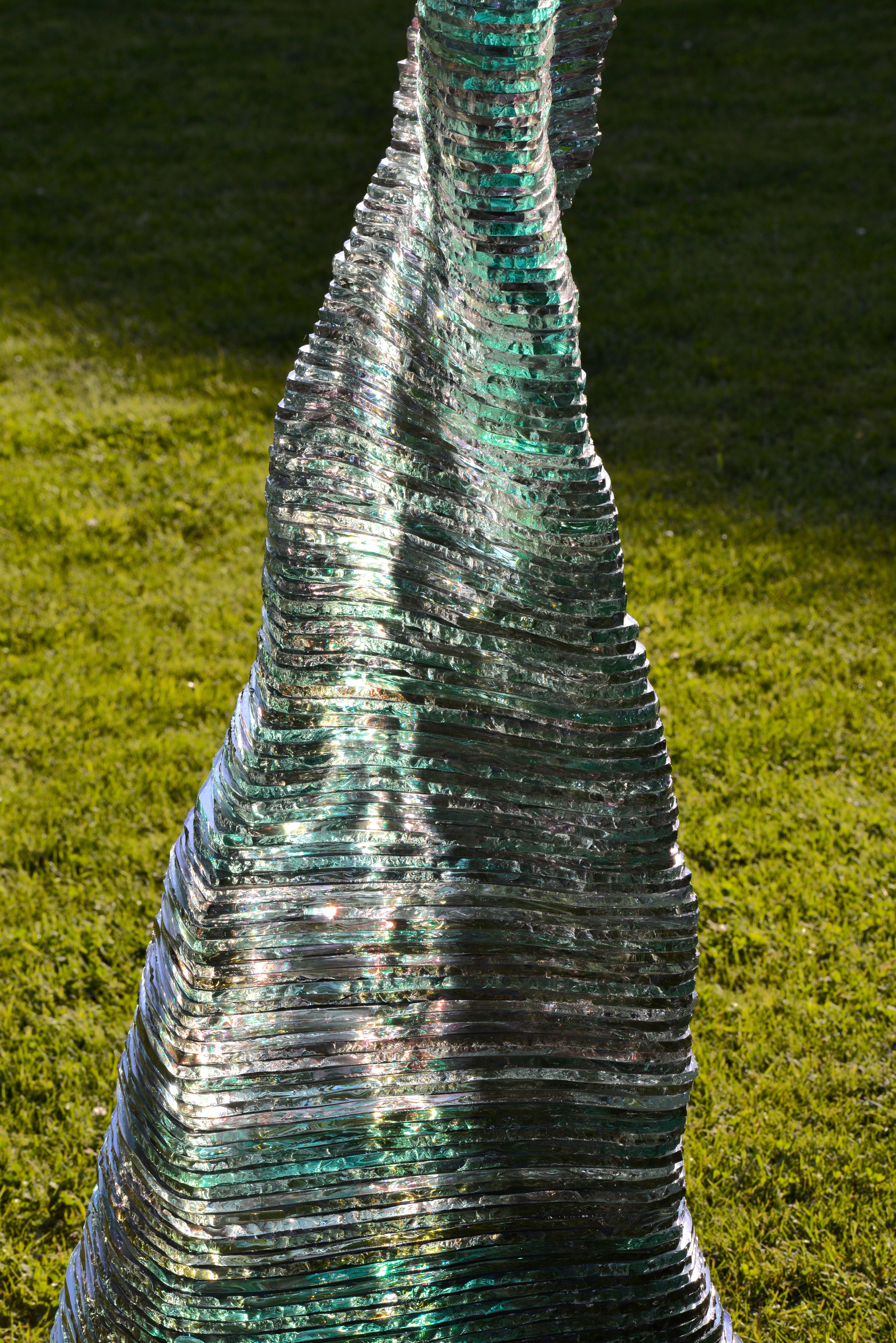 Ascendit Layered Glass Sculpture