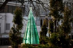 Stylized Layered Glass Fir Tree