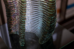 Fragment of Layered glass sculpture Harenam_Ernest Vitin