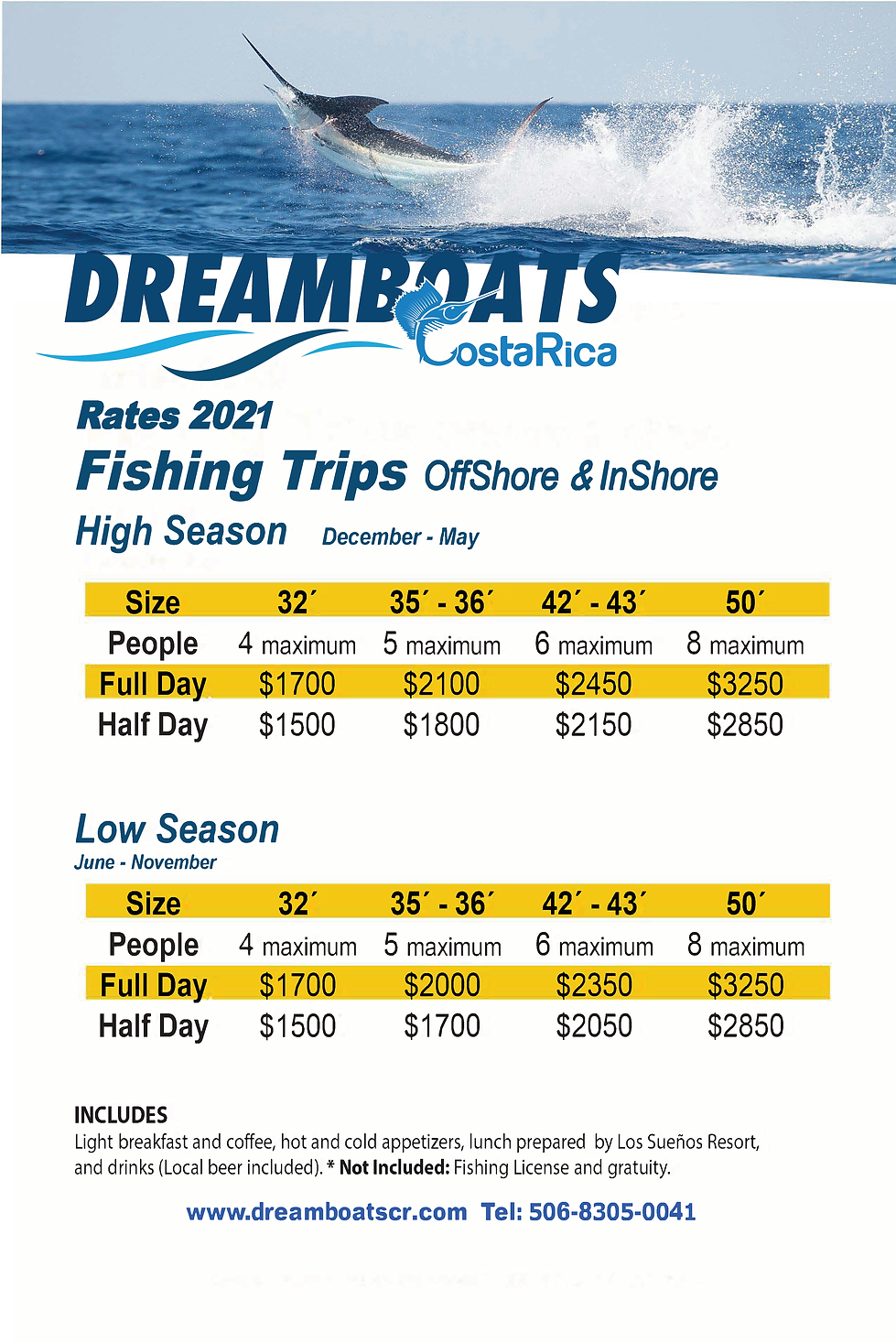Dreamboats Pricing.png