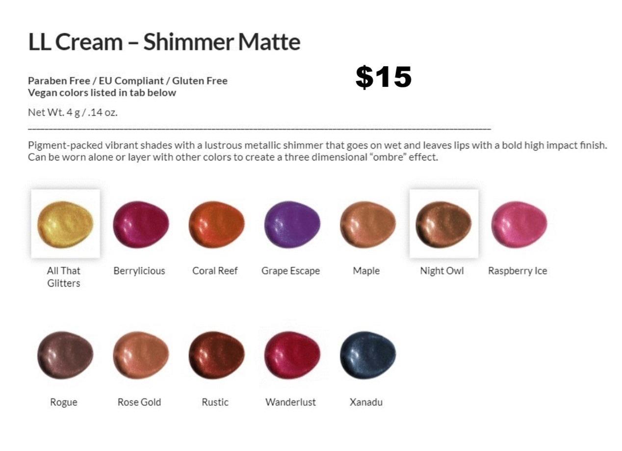 Shimmer Liquid Drying Lipstick