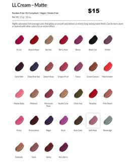 Matte Liquid Drying Lipstick