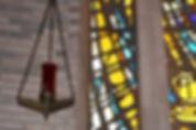 eternal lamp in church.jpg