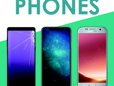 Did you know we buy old, cracked, broken, faulty phones too......
