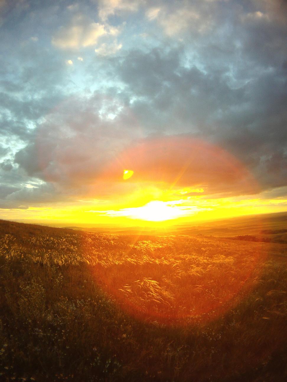 Рассветы над Аркаимской долиной...