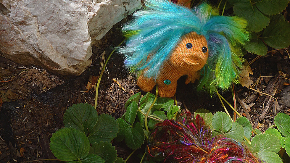 """""""The Knit Troll"""" Knitting Pattern (2 sizes available)"""