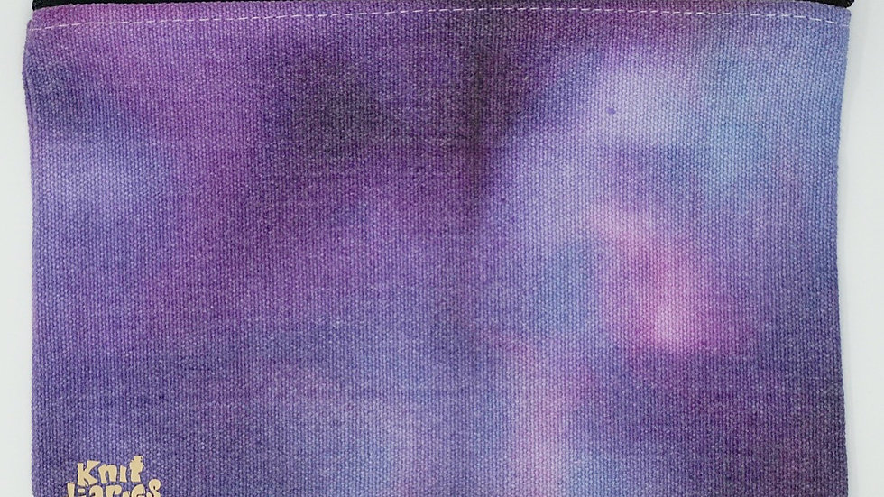Hand-dyed Accessory Pouch