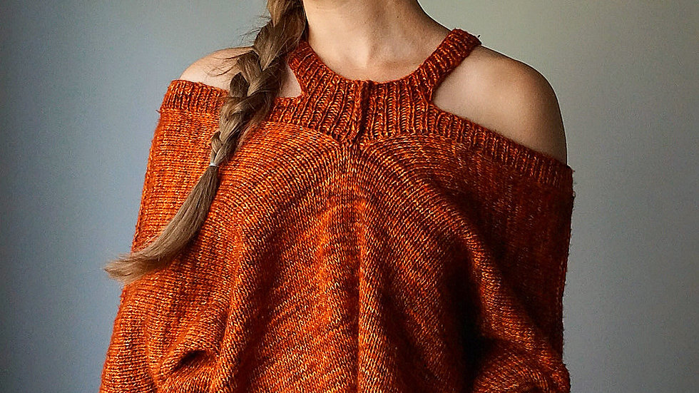 """""""The Sweater with No Name"""" Pattern- 8 sizes"""