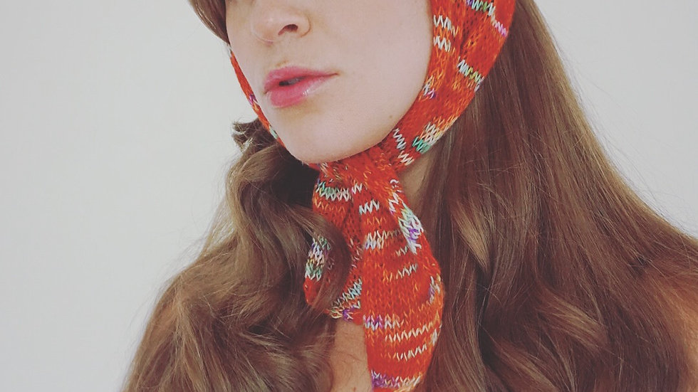 """Audrey's Scarf"" Knitting Pattern"