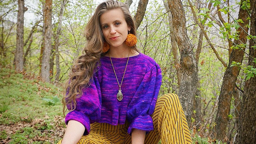 """""""Margo"""" Knitting Pattern 10 Sizes"""