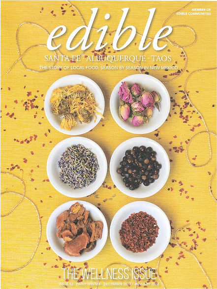 HMB Featured in Edible Magazine Early Winter Edition