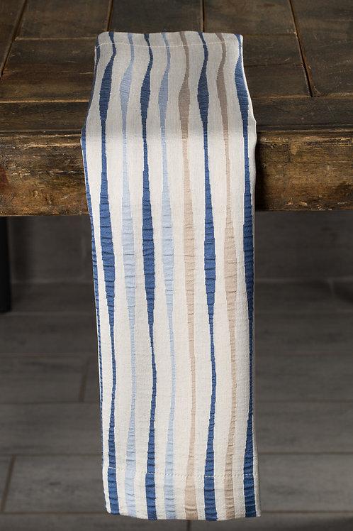 Specialty Blue Sonoma Stripe Napkin